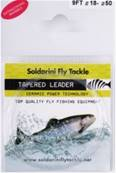 TAPERED LEADER 12FT. SOLDARINI 0.20 FLUO