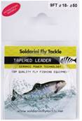 TAPERED LEADER 12FT. SOLDARINI 0.12 CLEA