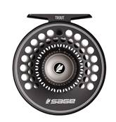 CARRETE SAGE TROUT 2/3/4 STEALTH/SILVER