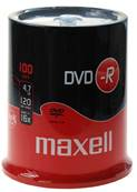 DVD-R 4.7 GB. SPINDLE 100 PCS.